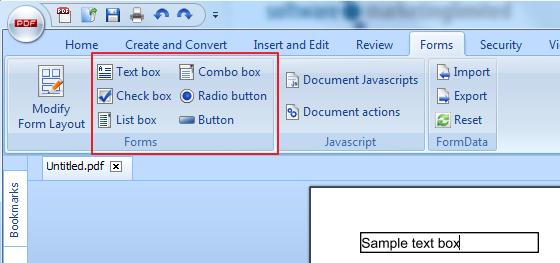 How do I create/edit form fields? – PDF Pro 10